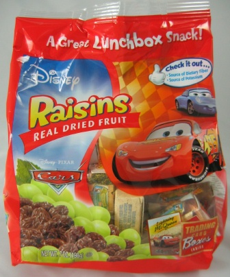 Disney Raisins
