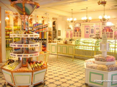 Walt Disney World Magic Kingdom - Main Street Confectionery